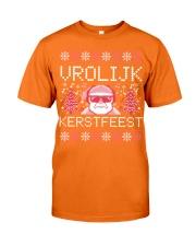 VROLIJK KERSTFEEST SANTA Classic T-Shirt front