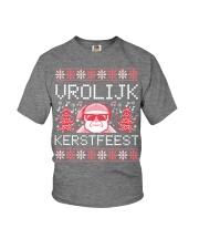 VROLIJK KERSTFEEST SANTA Youth T-Shirt thumbnail