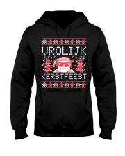 VROLIJK KERSTFEEST SANTA Hooded Sweatshirt thumbnail