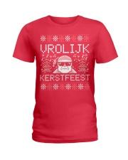 VROLIJK KERSTFEEST SANTA Ladies T-Shirt thumbnail