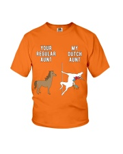YOUR REGULAR AUNT MY DUTCH AUNT Youth T-Shirt front