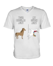 YOUR REGULAR AUNT MY DUTCH AUNT V-Neck T-Shirt thumbnail