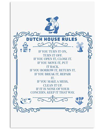 DUTCH HOUSE RULES