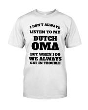 MY DUTCH OMA Classic T-Shirt thumbnail