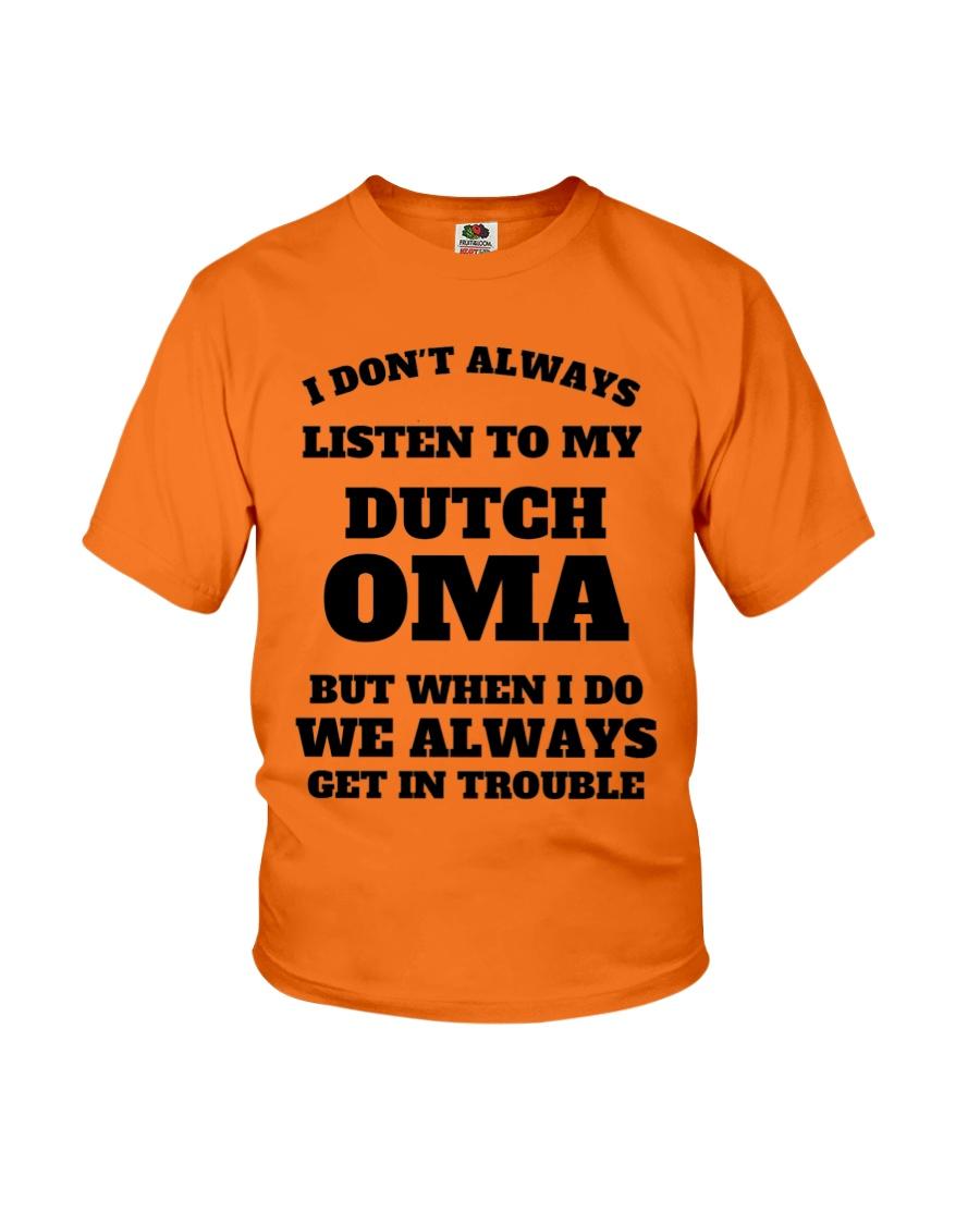 MY DUTCH OMA Youth T-Shirt