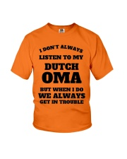 MY DUTCH OMA Youth T-Shirt front