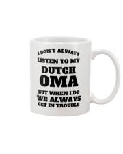 MY DUTCH OMA Mug thumbnail