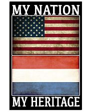 AMERICA MY NATION THE NETHERLANDS MY HERITAGE Vertical Poster tile