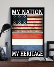 AMERICA MY NATION THE NETHERLANDS MY HERITAGE 24x36 Poster lifestyle-poster-2
