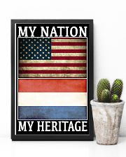 AMERICA MY NATION THE NETHERLANDS MY HERITAGE 24x36 Poster lifestyle-poster-8