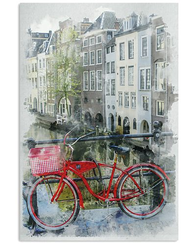 AMSTERDAM THE NETHERLANDS TRAVEL POSTER