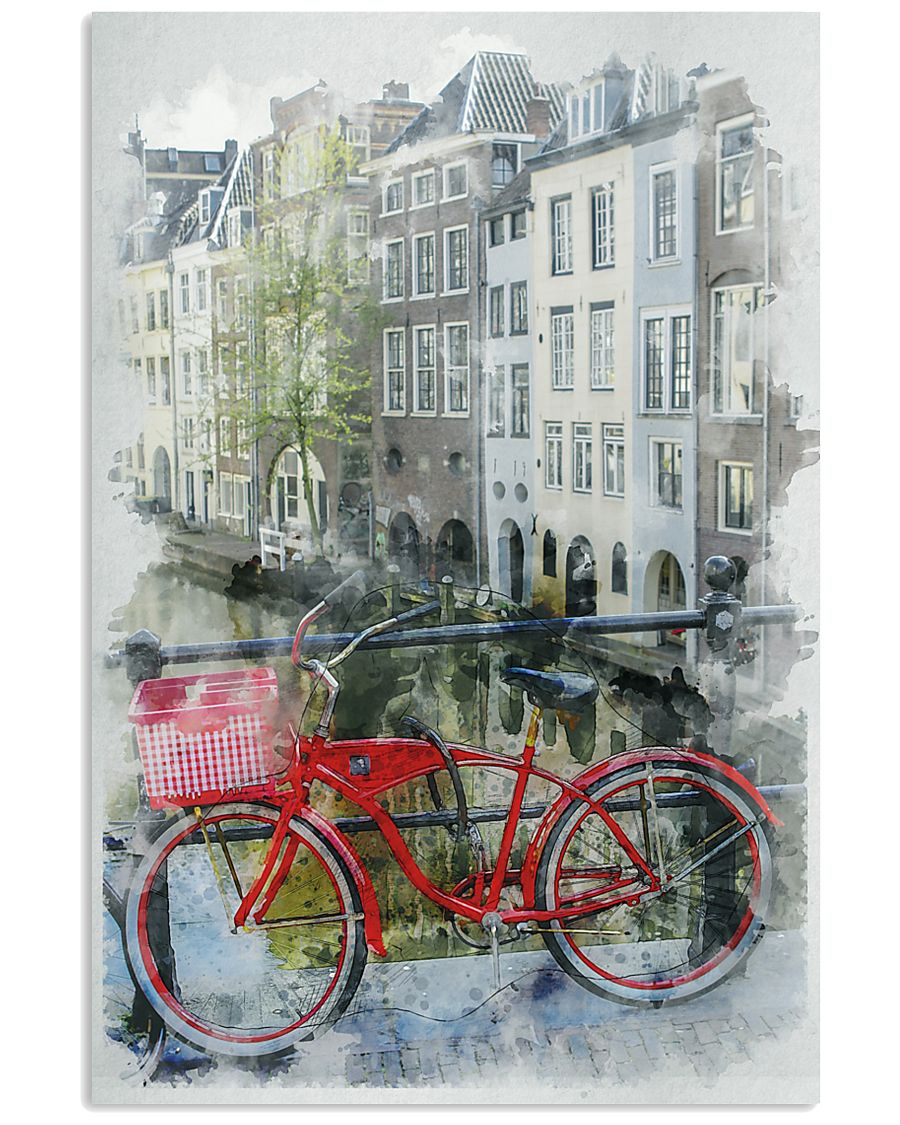AMSTERDAM THE NETHERLANDS TRAVEL POSTER 11x17 Poster