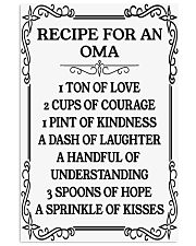 RECIPE FOR AN OMA 11x17 Poster thumbnail