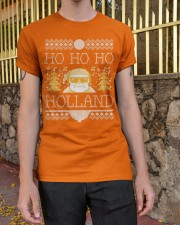 HO HO HO HOLLAND FESTIVE Classic T-Shirt apparel-classic-tshirt-lifestyle-21