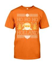 HO HO HO HOLLAND FESTIVE Classic T-Shirt front