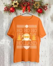 HO HO HO HOLLAND FESTIVE Classic T-Shirt lifestyle-holiday-crewneck-front-2