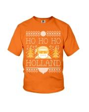 HO HO HO HOLLAND FESTIVE Youth T-Shirt thumbnail