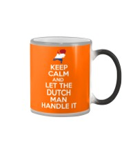 KEEP CALM AND LET THE DUTCH MAN HANDLE IT Color Changing Mug thumbnail