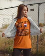 YOU KNOW YOU'RE DUTCH DUBBELZOUTE Classic T-Shirt apparel-classic-tshirt-lifestyle-07