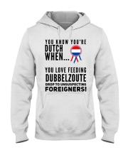 YOU KNOW YOU'RE DUTCH DUBBELZOUTE Hooded Sweatshirt thumbnail