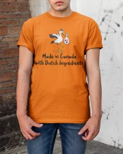 MADE IN CANADA DUTCH INGREDIENTS Classic T-Shirt apparel-classic-tshirt-lifestyle-31