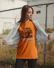 OMA IS MY NAME OLIEBOLLEN IS MY GAME Classic T-Shirt apparel-classic-tshirt-lifestyle-07