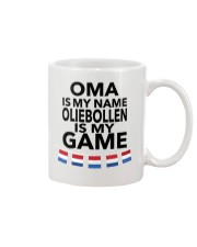 OMA IS MY NAME OLIEBOLLEN IS MY GAME Mug thumbnail