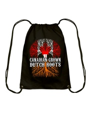 DUTCH ROOTS CANADIAN GROWN Drawstring Bag tile