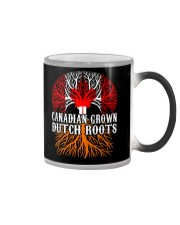 DUTCH ROOTS CANADIAN GROWN Color Changing Mug tile