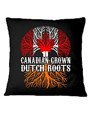 DUTCH ROOTS CANADIAN GROWN Square Pillowcase tile