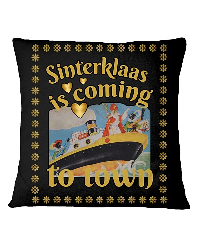 SINTERKLAAS IS COMING TO TOWN