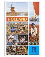HOLLAND VINTAGE TRAVEL 1960 11x17 Poster front