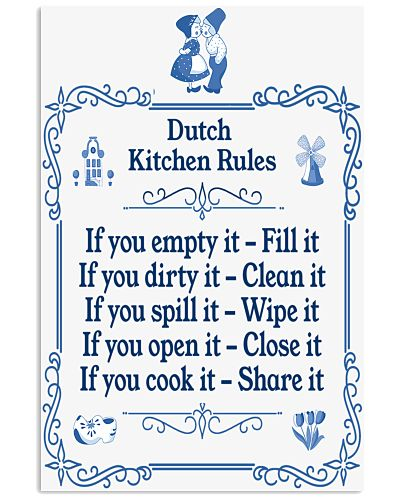 DUTCH KITCHEN RULES
