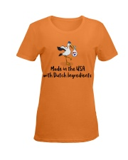 MADE IN USADUTCH INGREDIENTS Ladies T-Shirt women-premium-crewneck-shirt-front