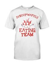 STROOPWAFELS EATING TEAM Classic T-Shirt thumbnail