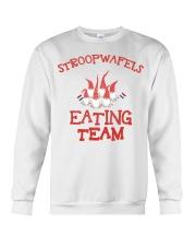 STROOPWAFELS EATING TEAM Crewneck Sweatshirt thumbnail