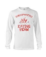 STROOPWAFELS EATING TEAM Long Sleeve Tee thumbnail