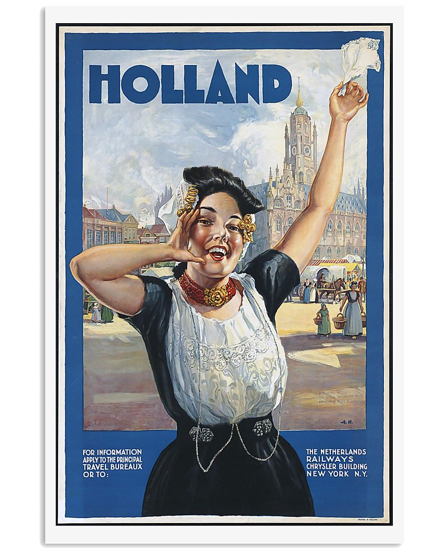 HOLLAND VINTAGE TRAVEL POSTER 11x17 Poster