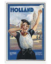 HOLLAND VINTAGE TRAVEL POSTER 11x17 Poster front