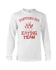 POFFERTJES EATING TEAM Long Sleeve Tee thumbnail