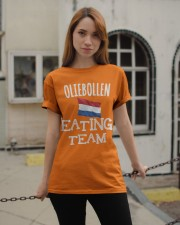 OLIEBOLLEN EATING TEAM Classic T-Shirt apparel-classic-tshirt-lifestyle-19