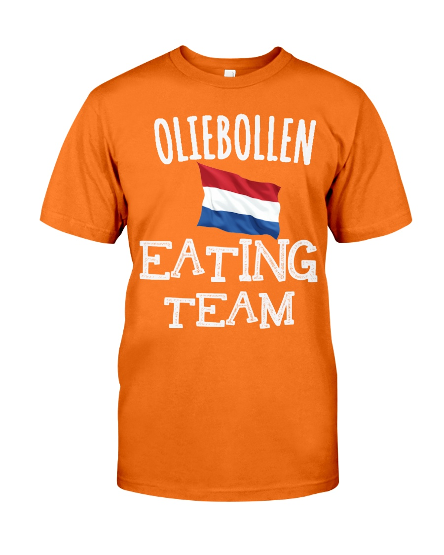 OLIEBOLLEN EATING TEAM Classic T-Shirt