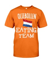 OLIEBOLLEN EATING TEAM Classic T-Shirt front
