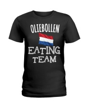 OLIEBOLLEN EATING TEAM Ladies T-Shirt thumbnail