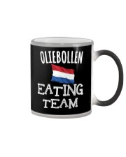 OLIEBOLLEN EATING TEAM Color Changing Mug thumbnail