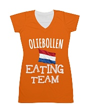 OLIEBOLLEN EATING TEAM All-over Dress thumbnail