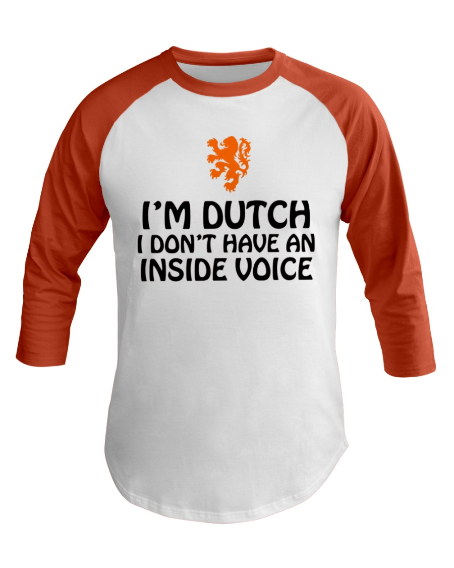 DUTCH INSIDE VOICE Baseball Tee