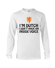 DUTCH INSIDE VOICE Long Sleeve Tee thumbnail