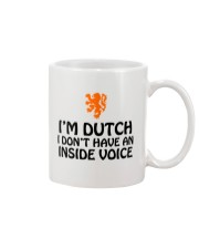 DUTCH INSIDE VOICE Mug tile