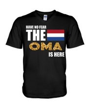 HAVE NO FEAR OMA IS HERE V-Neck T-Shirt thumbnail
